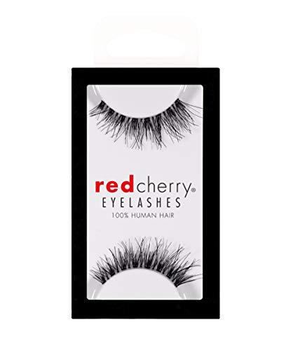 Red Cherry Nr. # 601 Dolce , schwarze echthaar Wimpern, künstliche Wimpern