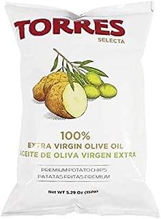 Patatas Fritas Torres Olive Oil Premium Potato Chips Big Bag (1 x 5.29 Ounce)