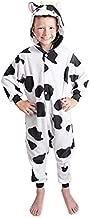 Fashion Kids Animal Cow Pajama Onesie - Soft and Comfortable with Pockets