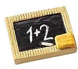 Streu-Deko Streu-Teile Konfetti Schultafelt aus Polyresin Bastelzubehör erster Schultag Tisch-Deko Schule Einschulung Accessoires & Dekoration Mädchen & Jungen Bastelbedarf 3 Streuelemente