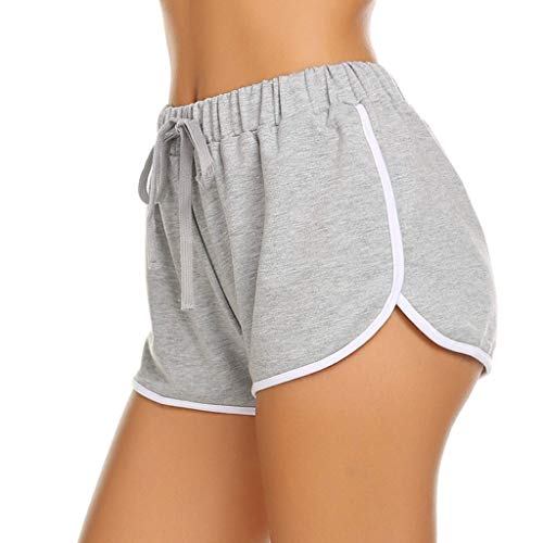 Shinehua korte broek sportbroek dames joggingbroek stoffen broek korte shorts slaapbroek jersey slaapbroek katoen voor yoga sport joggen gym running casual elastisch