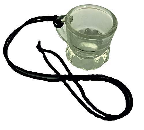 RPN 6 x Schnapsgläser Schnapsglas Umhänge Band Shots 2cl Trinkglas Schnapskrug Glas