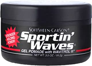 Sportin Waves Gel Pomade (6 Pieces)