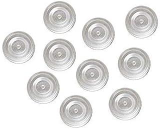 (ノーブランド品) イヤリング用シリコンカバー ペア5セット