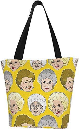Carl Hamilton Canvas Tote Bag für Frauen Mädchen Unisex Schulter Eco Tasche für Arbeit Strand Mittagessen Einkaufen Lebensmittel Künstler Tasche, - Einfarbig - Größe: Einheitsgröße