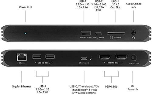 41LunQg BAL-「Caldigit USB-C/Thunderbolt 3 HDMI Dock」をレビュー。Chromebookでも使える万能ドック