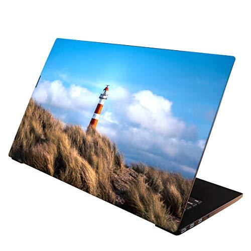 OneWheel / Folie Sticker Aufkleber Skin Schutzfolie für Notebook Laptop (Leuchtturm, 15-17 Zoll)