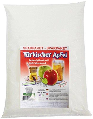 1KG Ottoman Türkischer Apfel, Instantgetränk mit Apfelgeschmack - Roter Apfel