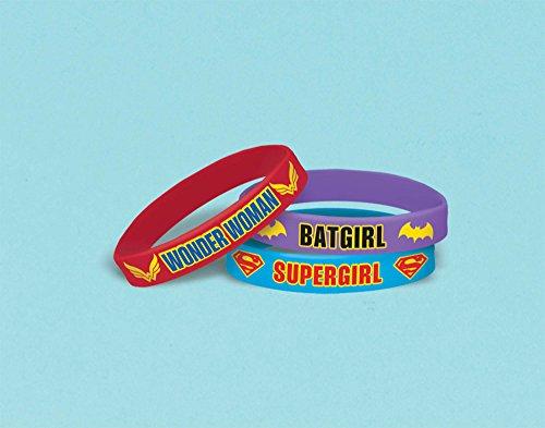 DC Comics Superhero pulsera de caucho niñas