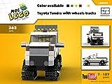 Toyota Tundra with wheels tracks (Instruction only): MOC LEGO (English Edition)