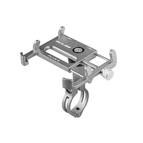 Lixada Bicicleta Teléfono Titular 360 Grado Giratorio Longitud Ajustable de Aluminio...