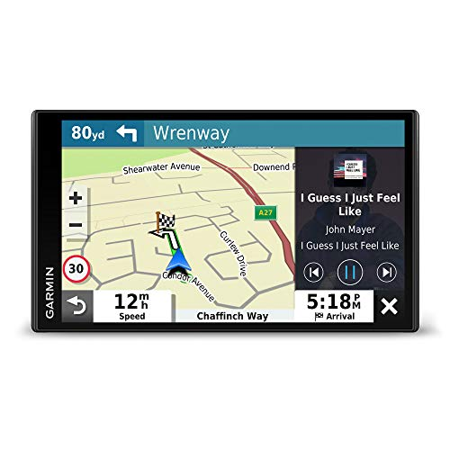 Garmin DriveSmart 65 MT-S with Amazon Alexa, 6.95 Inch Sat Nav with Alexa Built-In, Edge-to-Edge Display, Full Europe Map Updates, Live Traffic, Hands Free Calling, Voice Commands and Smart Features