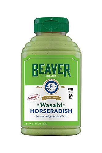 Beaver Wasabi Horseradish, 12.5 Ounce Squeeze Bottle