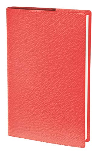 Quo Vadis - Agenda Semainier Universitaire Impala Rouge Corail - Août 2021 à Août 2022-10 x 15 cm