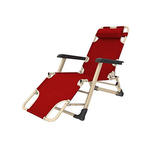 YQQ-Chaise pliante Fauteuil De Repos Chaise Longue Bureau Chaise De Pause Déjeuner 178 * 60 * 98CM