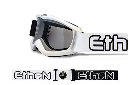 Ethen Skibril Junior Gioventù Unisex, wit, eenheidsmaat