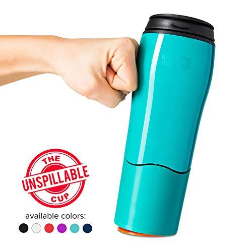 Mighty Mug - Taza de viaje de plástico de doble pared
