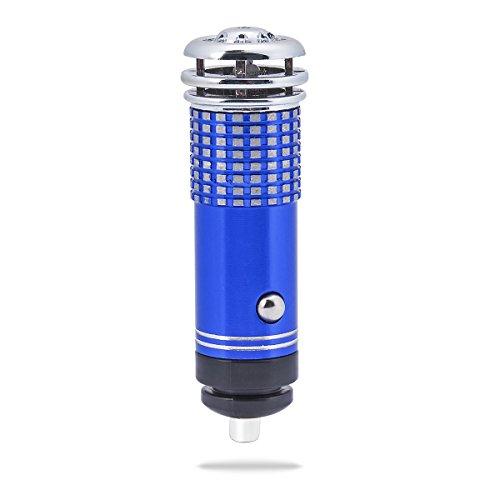 Weiye Auto-luchtverfrisser, ionisator, ionische luchtreiniger, verwijdert pollen, rook, slechte geuren, hulp bij allergie, 1 stuk