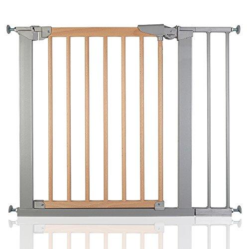 BabyDan True Pressure Avantgarde Baby Safety Stair Gate Silver Beech All Widths (83.7cm-91.1cm)