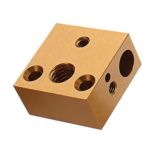 I3D Selection - Cuerpo de calentamiento de aluminio compatible con impresoras 3D Creality/Alfawise