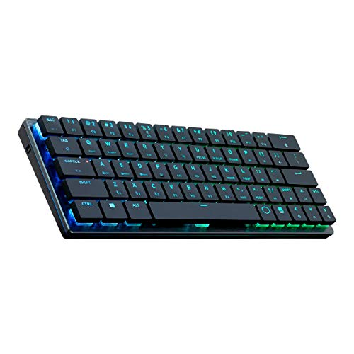 Cooler Master Sk-621-Gklr1-US SK621 60% Mechanical Keyboard with Cherry MX Low Profile Switches and Brushed Aluminum Design