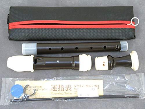 全音G-1ABRESSANバロック式ABS樹脂製アルトリコーダー
