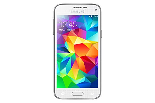 Samsung G800 Galaxy S5 Mini Smartphone, 16 GB, Bianco [Italia]
