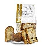 Carioni Food & Health Pan Tostado Bio con harina de Kamut y pasas, biscotes - 200 gr (Paquete de 6 Piezas)