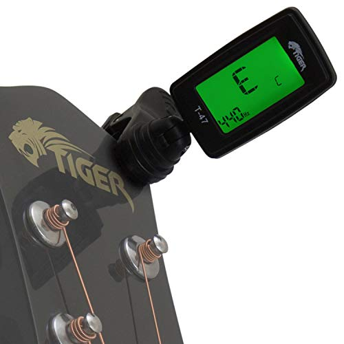 basso e ukulele BOSS TU01 Clip-On Tuner Accordatore per chitarra elettrica