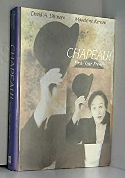 Hardcover Chapeau!: First-Year French Book