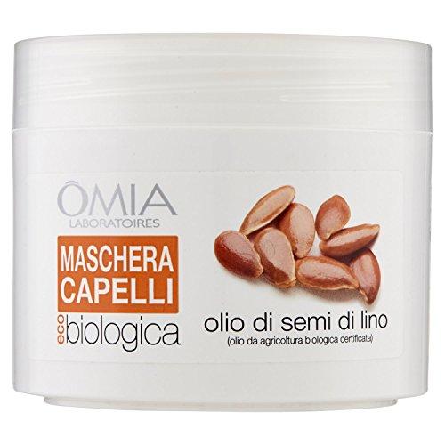 Omia Maschera Capelli Ecobio Olio di Semi di Lino - 250 ml