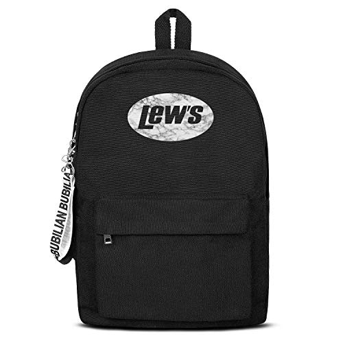 Mens College Canvas Backpack Lew's-fishing-combo-White-marble- Best Leisure Rucksack Designer Durable Women Bookbag