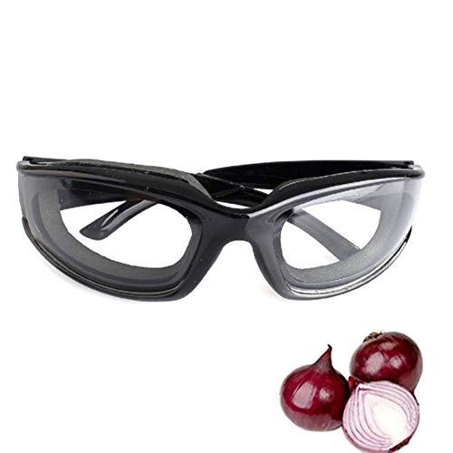 1pc Cucina Creativa Con I Vetri Protettivi Anti-riflesso Effetto Occhiali Speciali Per Il Taglio Cipolle Casa Utensili Da Cucina Nero
