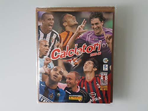 Album calciatori Panini 2005/06 Vuoto + Set Completo Figurine da attaccare