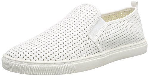 Buffalo Damen 100-27 NAPPA PU Slipper, Weiß (WHITE), 41 EU