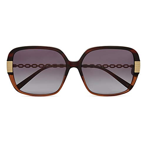 Ted Baker Sunglasses, Brown Horn, INDI, with 100% UV Protection