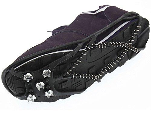 Spikes Schuhspikes Antirutsch Spike Eis Steigeisen Bergschuhe Traktion Schuhkralle Gr. 37-43