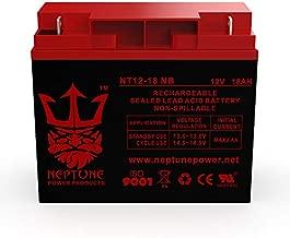 Neptune 12V 18AH Battery Sealed Lead Acid Rechargeable SLA AGM Batteries Replaces UB12180 FM12180 6fm18 PS-12180 EXP12180