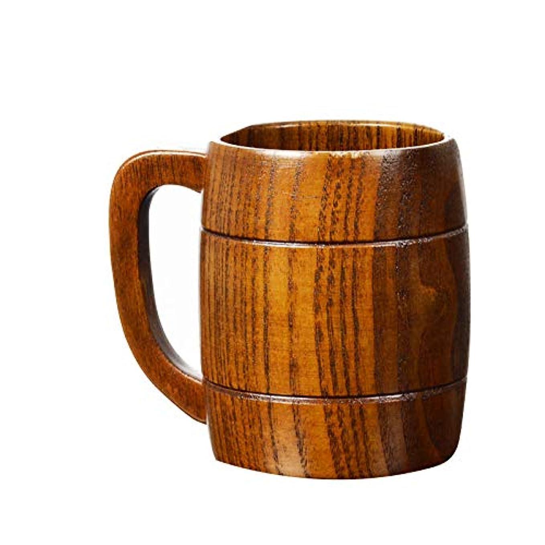 名目上の探偵一般ZaRoing 酒器 木製ビールジョッキ 乾杯ジョッキ ビール エール バイキング 海賊船 ビールコップ おしゃれ 北欧 天然木