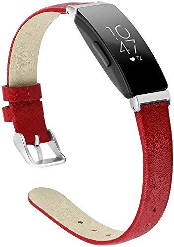 Classicase Piel Correa de Reloj Compatible con Fitbit Inspire HR/Inspire, Correa/Banda/Pulsera/Recambio/Reemplazo/Strap de Reloj (Pattern 5)