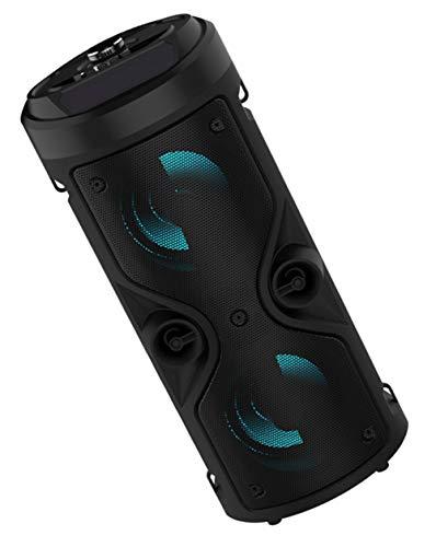 JFSKD Altavoz Bluetooth portátil con Control Remoto - Altavoz inalámbrico Subwoofer de...