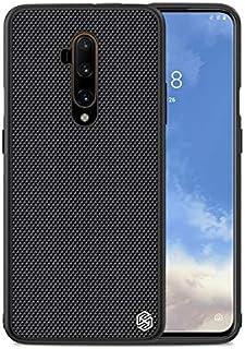 جرابات نصف ملفوفة جديدة - جراب OnePlus 7T Pro لهاتف One plus 8 NILLKIN غطاء خلفي من السيليكون لهاتف OnePlus 7 Pro (أسود مز...