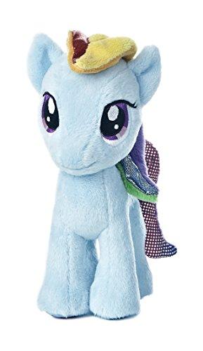 Aurora World My Little Pony Rainbow Dash Pony Plush, 6.5'