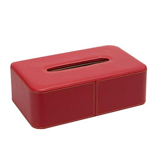 Uitstekend Creative tissue doos Rechthoekige PU Tissue Box Leather tissue box Gemakkelijk