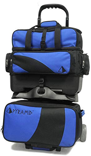 Pyramid Path Premium Deluxe 4 Ball Roller Bowling Bag