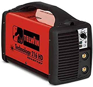 TELWIN TE-816006 - Soldador inverter mma+tig technology 216 hd 230v