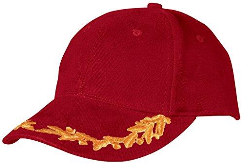 Myrtle Beach - Gorra de béisbol - para hombre Rojo rosso talla...