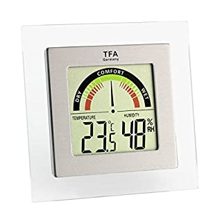 TFA Dostmann 30.5023 - Termómetro/hidrógrafo Digital con indicador de Zona de Confort (B005ZG9Q2W) | Amazon price tracker / tracking, Amazon price history charts, Amazon price watches, Amazon price drop alerts