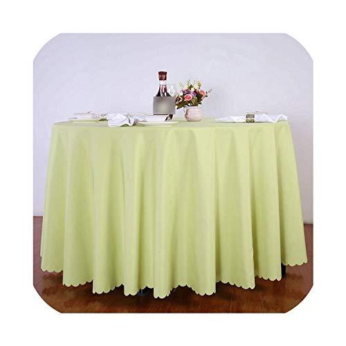 N12H Polyester Ronde Tafelkleden Effen Kleur Bruiloft Tafelkleed Rechthoekig Eettafel Feest Hotel Tafelhoes Machine Wasbaar