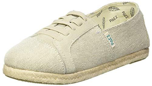 Paez Original Raw Sneaker, Espadrilles Femme, Marron (Sand 043), 41 EU
